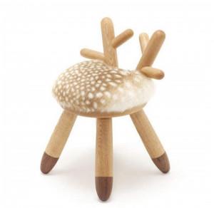 小鹿斑比靠背椅