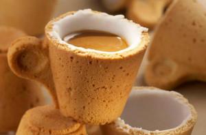 可以吃的曲奇咖啡杯