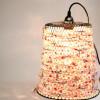 铁丝网垃圾桶创意改造漂亮的DIY灯罩