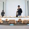 木制玩具车模型车展