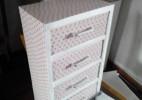 旧物改造牛奶箱制作收纳柜制作方法图解