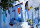 摩洛哥萧安小镇 - 一个充满诗情画意的蓝色天堂