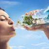 国外Santal果汁系列创意平面广告设计