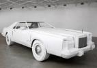 经典重现的纸模林肯轿车