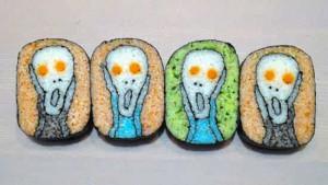 寿司的艺术:你从未见过这样的寿司