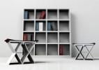 独特的可折叠的书本凳子