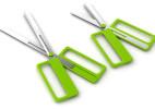 可调节长度的创意剪刀