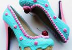 """美的不忍吃下的""""鞋子""""蛋糕(Shoebakery)"""