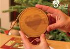 使用方便的餐厅创意充电杯垫(Circle)