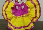 玉米皮手工制作图片教程 玉米皮娃娃的做法