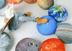 太阳系创意星球抱枕(Solar System Pillow Set)