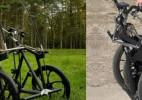 可折叠的太阳能驱动的电动踏板车