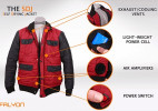 自动烘干的充气创意夹克