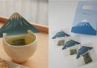 创意富士山茶包