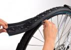 模块化的自行车拉链轮胎
