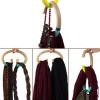 简单方便的创意衣物挂钩(HANG-OVER)