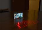 可投影虚拟键盘的创意手机壳