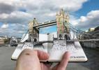 手绘+摄影的3D风景照,让旅游更有纪念意义