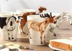 3D动物创意马克杯