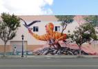 澳大利亚街头艺术家Fentan Mcgee墙绘艺术