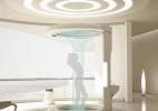 星际迷航风格的创意概念浴室设计