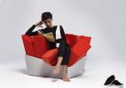 """""""坚硬""""的草丛座椅Manet创意设计"""