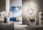 优雅的桌面花束灯Clizia创意设计