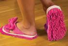 懒人神器拖地拖鞋,边走边打扫卫生方便好用