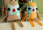 亲手制作布偶饰品:愤怒的小鸟