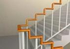 直角楼梯扶手 帮助孕妇、老人更轻松上下楼