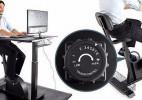 带健身功能的办公桌创意设计