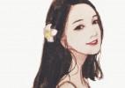 如花似玉的美女人物绘画美图