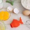 可爱实用的金鱼蛋黄分离器,一秒分离蛋黄蛋清