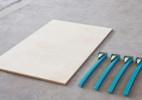 可拆卸的组合桌子,帮你最大限度节省空间