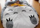 超级可爱的龙猫床,让你直接睡在龙猫的怀中