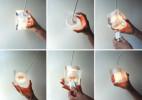创意多功能插座吊灯,随时暴露在灯光下的便捷插座