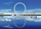 全球最高无条幅摩天轮在山东建成,比伦敦眼还要高10米