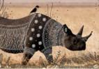 充满神性的创意绘画,动物部落的庄严仪式感