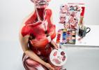 加拿大美女cosplay人体彩绘