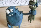 搞怪有趣的粘土怪兽