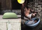 白天吸热,晚上保温的简易婴儿床(Suncubator)