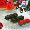 夏日祛暑的可口小西瓜