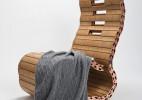 可任意调整曲度的创意座椅(Spyndi)