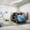 汽车造型VW创意儿童床