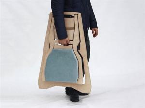 舒适的创意木质折叠椅