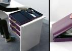 手提箱与办公桌的组合产品