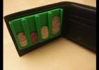 带硬币槽的创意钱包设计