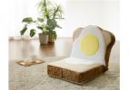 面包造型的创意无腿椅