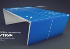 Robert Lindstrom设计的Waldner乒乓球桌