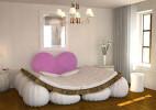 测试夫妻甜蜜指数的气垫床